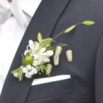 Ansteckblumen Bräutigam