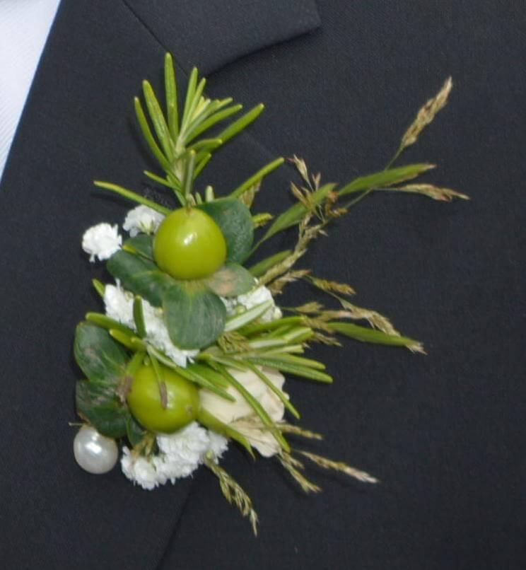 Bräutigam Ansteckblumen