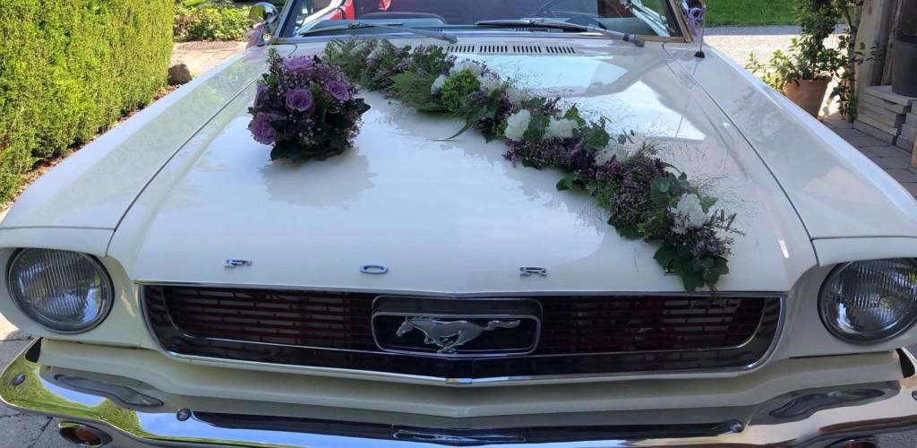 Hochzeitdekoration Auto