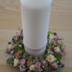Hochzeitdeko Kerze