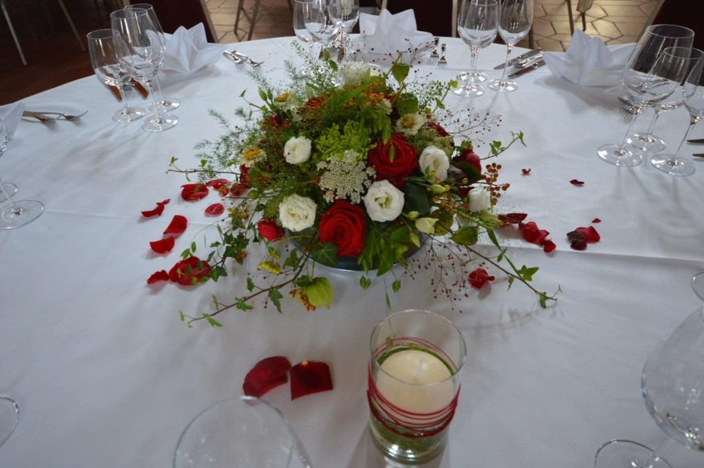 Tischdekoration Hochzeit2